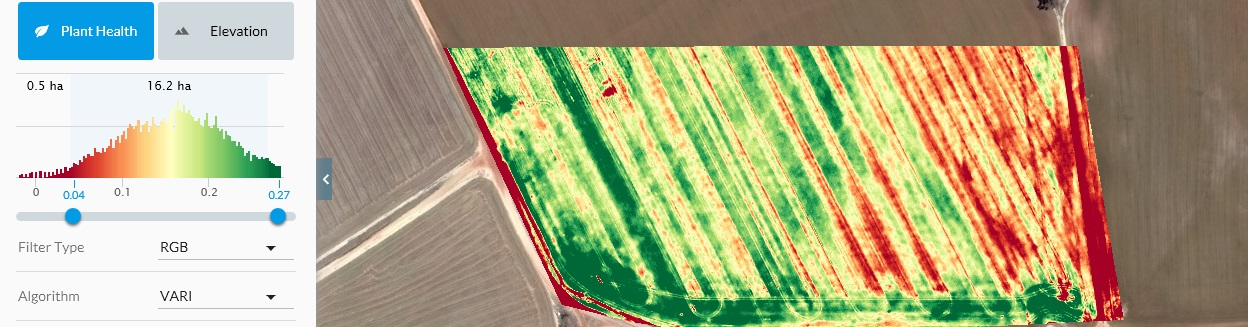 Drones Increase yields by Collecting Valuable Data