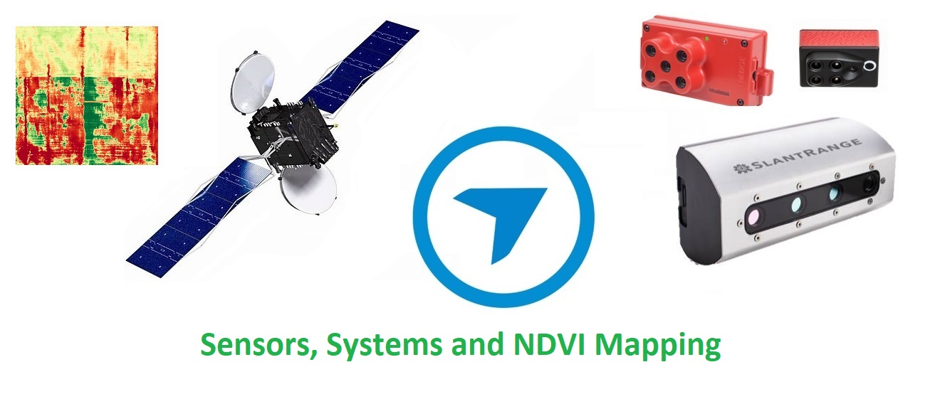 Systems and Sensors for NDVI mapping